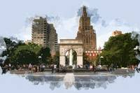 Washington Square Park Greenwich Village New York