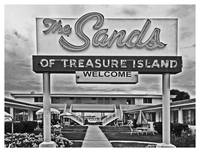 Sands Motel, Treasure Island, Florida - BW