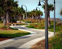 Myrtle Beach Boardwalk Serpentine Path