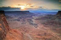 Shafer Canyon Sunrise, Canyonlands National Park