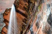 W6 Zion Waterfall At Emerald Pools