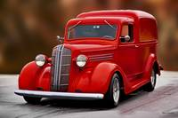 1937 Dodge 'Humpback' Delivery Panel l