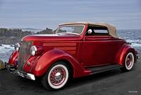 1936 Ford 'Candy Apple' Convertible I