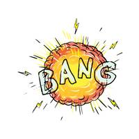 Explosion Bang Cartoon