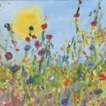 Field of Flowers by Nancy Shewchuk