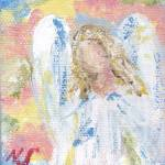 Colorful Angel by Nancy Shewchuk