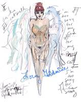 Burlesque Legend, Lovely Goldmine, by Luma Rouge