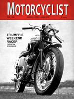 Motorcycle Magazine Weekend Racer 1960