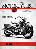 Motorcycle Magazine Indian Chief 1941
