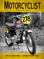 Motorcycle Magazine ISDT 1964