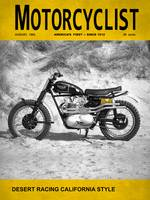 Motorcycle Magazine Desert Racing 1962