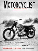 Motorcycle Magazine Bonneville TT 1966