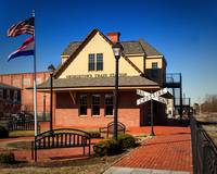 Historic Train Station in Georgetown Delaware
