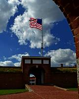 Fort McHenry Main Entrance