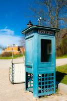 106 - Phone booth and a cart