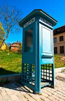105 - Antique phone booth
