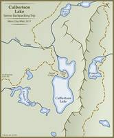 Culbertson Lake Map