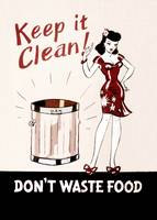 Keep it Clean Don't waste Food