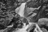 Monochrome Colorado Ouzel Falls