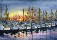 Harbor Sunset