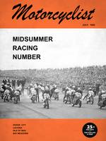 Motorcycle Magazine Midsummer Racing 1952