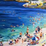 La Jolla Cove Beach Day by RD Riccoboni