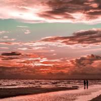 """Gulf Sunset"" by mooncreek"
