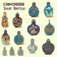 Chinoiserie Snuff Bottles Poster