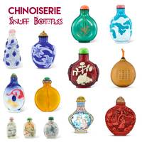 Chinoiserie Snuff Bottles