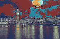 london big bang travel poster
