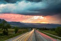 Highway 36 to Beautiful Boulder Colorado