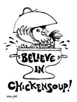 Chickensoup (B&W)