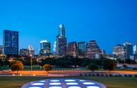 Austin Skyline From Long Center