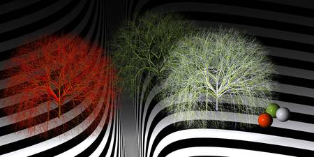fancy trees - scifi world -2-