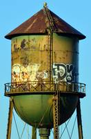 Green Water Tower
