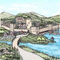 Medieval City Art Prints & Posters by Dan Anderton