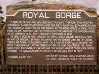 Royal Gorge Sign
