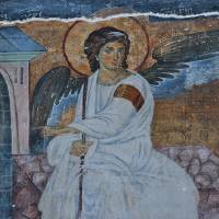 """White Angel Fresco"" by dianeaddis"