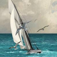 Sailing Southern Seas by I.M. Spadecaller