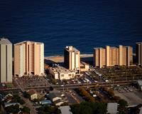Clarion Hotel Aerial Photograph in Ocean City Md