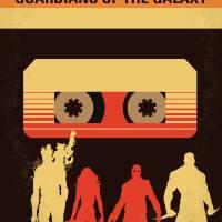 """No812 My GUARDIANS OF THE GALAXY minimal movie pos"" by Chungkong"