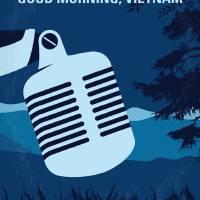 """""""No811 My Good Morning Vietnam minimal movie poster"""" by Chungkong"""