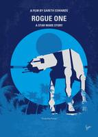 No819 My Rogue One minimal movie poster