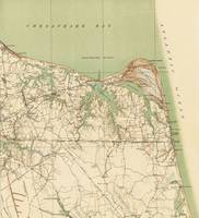 Vintage Map of Virginia Beach & Cape Henry (1918)