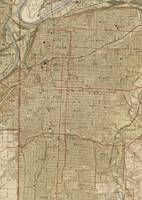 Vintage Map of Kansas City Missouri (1935)