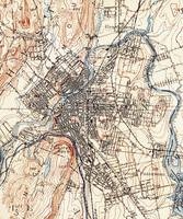 Vintage Map of Paterson NJ (1897)