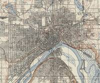 Vintage Map of St. Paul Minnesota (1894)