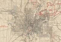 Vintage Map of San Antonio Texas (1903)
