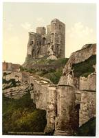 Vintage Photo-Print of Scarborough Castle (1900)