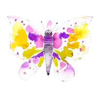 Cute colorful butterfly